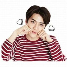 151203 EXO Kakaotalk New Stickers : PLAY with EXO - Sehun
