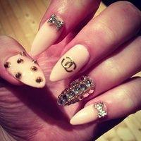 Coco Chanel Nail Art