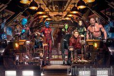 La EW nos deleita con nuevas imágenes de Guardianes de la Galaxia Vol. 2. Hay más tras el enlace