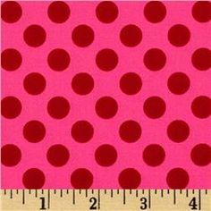 Michael Miller Ta Dot Pink