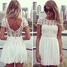 Vestido de Renda *-*