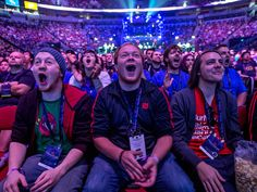 In E-Sports, Video Gamers Draw Real Crowds and Big Money, and these guys look hella baked!