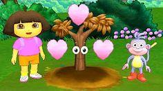 Dora and Friends the Explorer Animation! Dora The Trees Story Nickelodeon Junior Kids Video!