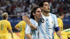 Juan Román Riquelme ha hablado sobre el futuro de Messi en el Barcelona en una