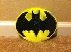 Batman Perler Logo by Night-TAG on deviantart
