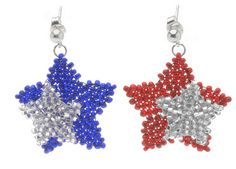 Another collection of patriotic jewelry tutorials.