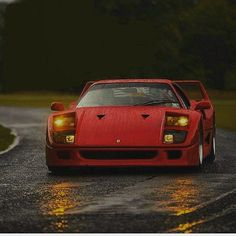 #Ferrari #F40 #italiandesign