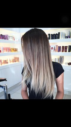 Beautiful balayage highlights Más Más