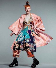 46 trendy sport fashion show marie claire 46 trend+ Kimono 👘 Foto Fashion, Kimono Fashion, Sport Fashion, Runway Fashion, High Fashion, Fashion Outfits, Fashion Women, Marie Claire, Estilo Casual Chic