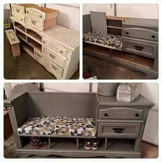 Turn old furniture into a beautiful new thing
