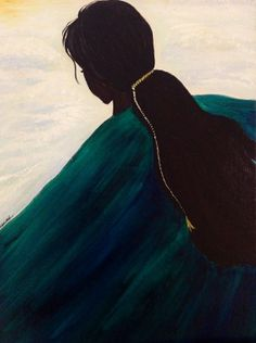 Acrylic original abstract painting , Art on canvas titled :Serenity