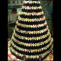 Because, if my house was a gigantic refrigerator, this would be my Christmas tree.