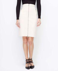 Zip Pencil Skirt | Ann Taylor