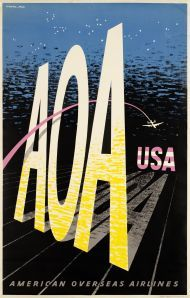 AOA, USA American Overseas Airlines