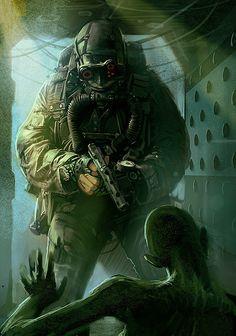 Featured Geek Artist: The Dark & Fun Sci-Fi / Fantasy Art of RANDIS — GeekTyrant