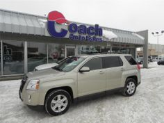 This 2012 GMC Terrain SLT-1 is a vehicle with a 3L- 6 cylinder engine, powered by flex fuel.