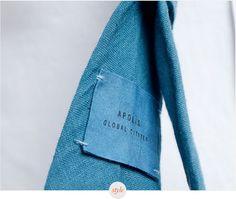 Apolis Organic Hand Dyed Linen Tie