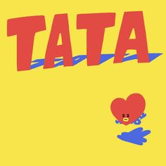 Tata created by Taehyung~ ❤ BTS LINE STICKERS!!! Free stickers created by BTS available only on LINE! #UNIVERSTAR #SUPERSTAR #BT21 #BTS #방탄소년단