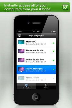 GoToMyPC for iPhone
