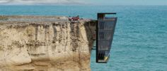 Modular House Design Concept Clings to the Side of a Cliff | Charismatic Planet