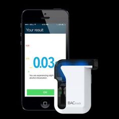 The award-winning BACtrack Mobile Pro integrates a smartphone app and police-grade breathalyzer to bring blood-alcohol content (BAC) wirelessly to your device. Quickly and easily estimate your blood alcohol content (BAC), track your results over time, and with ZeroLine®, estimate when your BAC will return to 0.00%.  Get it for $99.99