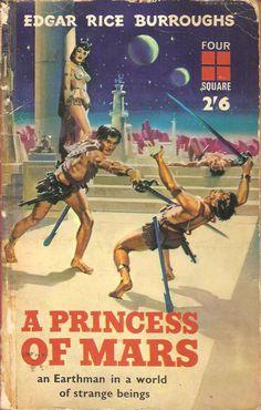 A Princess O Mars. Edgar Rice Burroughs.