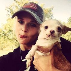 #throwbackthursday 2014 when I assisted on a last minute rescue mission in Oklahoma and found my future puppy niece Rosie (and her sister Petunia) @ashleymonroemusic I'm so glad you adopted these Angels. MuttNation Foundation #rescue #loveashelterpet #rosieandpetunia #toungeout