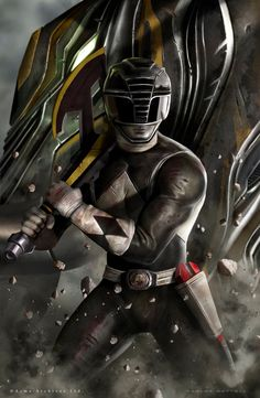 Black Ranger by Carlos Dattoli