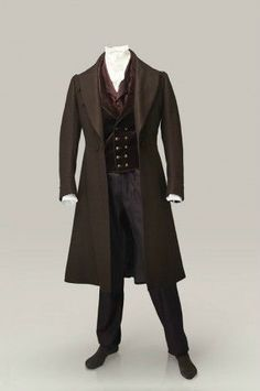 frock coat 19th century - Google Search                                                                                                                                                                                 More