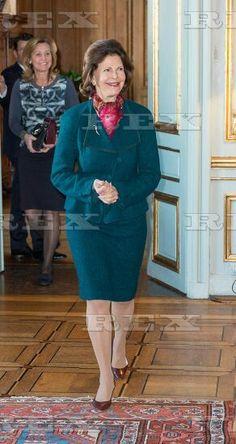 Queen Silvia attends Scholarship Award for Queen Silvia Jubilee Fund, Stockholm, Sweden - 21 Jan 2016  Queen Silvia of Sweden 21 Jan 2016