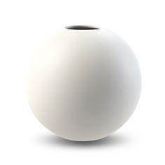 Cooee Ball Vase 20cm White