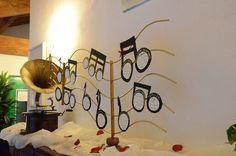 """Tableau de mariage - tema musica  Tableau de mariage: """"musical"""" idea"""