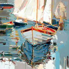 Josef Kote - Warm Glow- Acrylic - Painting entry - June 2015 | BoldBrush Painting Competition