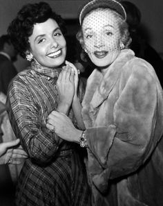 2 of my favorite women Lena Horne and Marlene Dietrich Lena Horne, Marlene Dietrich, Golden Age Of Hollywood, Hollywood Stars, Old Hollywood, Rita Hayworth, Marylin Monroe, Katharine Hepburn, Audrey Hepburn