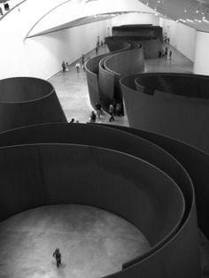 Serra - undulating metal space - scaleless pureness
