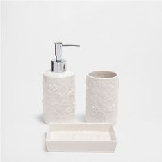RAISED-MONKEY DESIGN CERAMIC BATHROOM SET