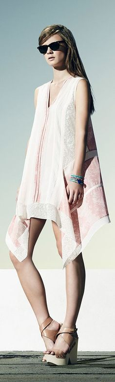 BCBG Maxazria Coverup Resort 2014 l Beachwear for Women l www.CarolinaDesig...