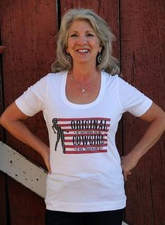 Star and Stripes Original Cowgirl Ladies Original Cowgirl Clothing Co.