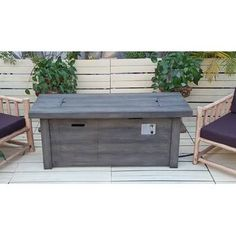 Great for Amity Concrete Propane Fire Pit Table by Longshore Tides Patio Garden Furniture from top store Propane Fire Pit Table, Wood Fire Pit, Concrete Fire Pits, Wood Burning Fire Pit, Fire Table, Concrete Patio, Patio Chair Cushions, Outdoor Coffee Tables, Outdoor Furniture Sets