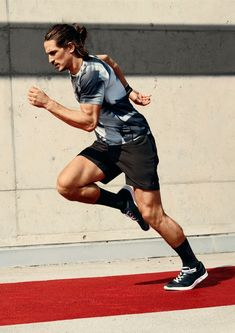 Jarrod Scott is off to a running star for H&M's latest campaign.