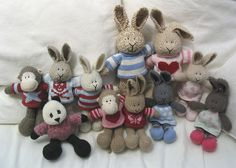 The gang by Little Cotton Rabbits
