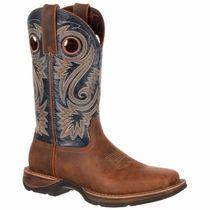 Durango Rebel 12 Inch Blue Western Work Boot DDB0075