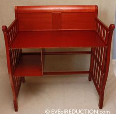 upcycle baby changing table to desk, painted furniture, repurposing upcycling, After photo of baby changing table upcycled into a desk