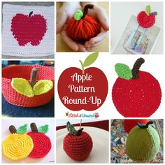 How About Them Apples? Crochet & Knitting Pattern Round-Up