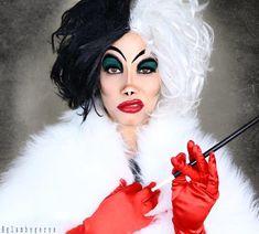 High Quality DIY 101 Dalmatians Cruella De Vil Costume