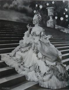 """Norma Shearer in """"Marie Antoinette"""", MGM, 1938."""