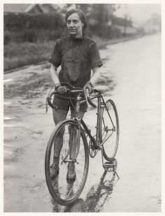 Suzanne Hudry, French National Cycling Champion, 1926. | Flickr - Photo Sharing!