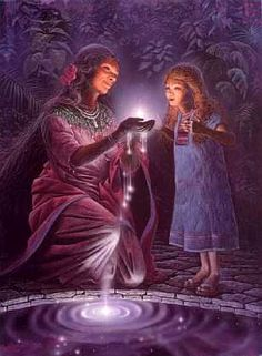 In Ancient times, older women were the keepers of primal Mysteries and were revered for their special wisdom.