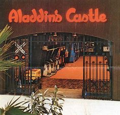 Aladdin's Castle Arcade - How many years of my life did I spend here?