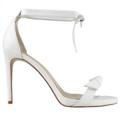 Wittner Page Bow Heel - White